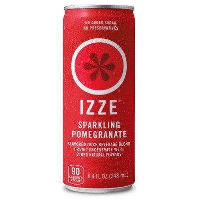 Pepsi IZZE Sparkling Juice Beverage, Pomegranate, 8.4 Fl Oz, 12 Count