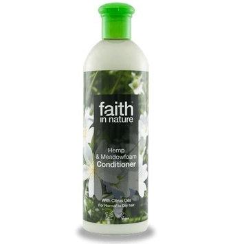 Faith In Nature Hemp & Meadowfoam Conditioner 400ml (2 Pack)