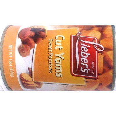 Lieber's Cut Yams 15oz Kosher For Passover - Pack of 6