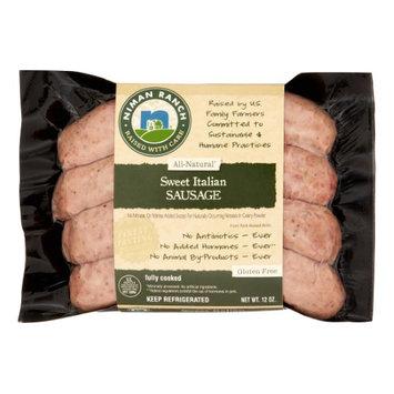 Niman Ranch Uncured Sweet Italian Sausage, 12 Oz
