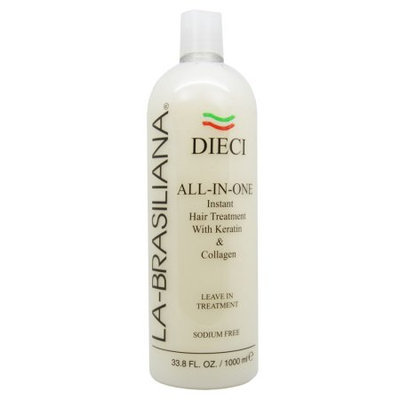 La Brasiliana La-Brasiliana Dieci All-In-One Instant Hair Treatment 1000ml/33.8oz