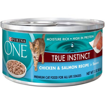 Nestle Purina Pet Care Canned NP15828 One Smart Blends Chicken-Salmon 24-3 Oz.