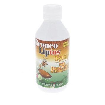 Broncolin Bronco Liptos Honey Syrup 8.11oz - Jarabe de Miel (Pack of 6)