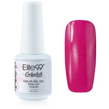 Elite99 Gelpolish Soak-off Gel Nail Polish UV LED Nail Art Purple Black 8ml 1477