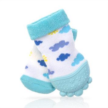 Nuby Teething Sock Clouds