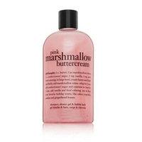 Philosophy Pink Marshmallow Buttercream Shampoo, Shower Gel & Bubble Bath 8 oz. / 240 ml