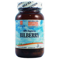 L A Naturals Bilberry Raw Herb 60 VGC