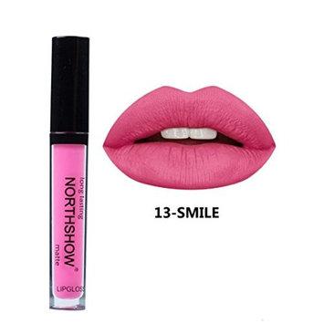 Aurorax NORTHSHOW Liquid Lipstick Soft Matte Long-Lasting Lip Gloss