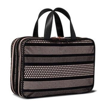 Sonia Kashuk153; Cosmetic Bag Large Weekender Mesh with Metallic Black