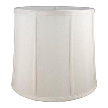 Round Drum Lampshade in Cream