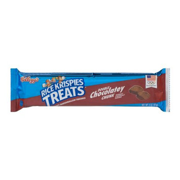 Kellogg Company Rice Krispies Treats Double Chocolatey Chunk Crispy Marshmallow Squares