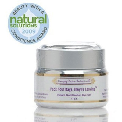 Simply Divine Botanicals Pack Your Bags They're Leaving Eye Gel