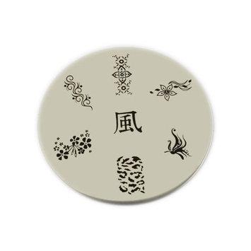 Konad Stamping Nail Art Image Plate - M24