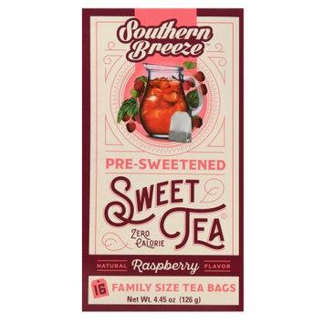 Southern Tea Original Sweet Tea Southern Breeze 16 Ct Sweet Raspbr Tea
