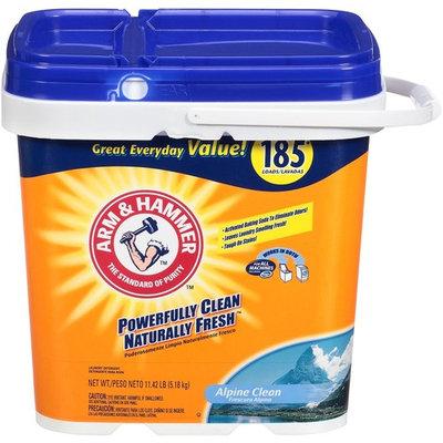 ARM & HAMMER Alpine Clean Laundry Detergent Powder, 185 loads, 11.42 lbs