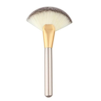DZT1968 Makeup Large Fan Goat Hair Blush Face Powder Foundation Cosmetic Brush G
