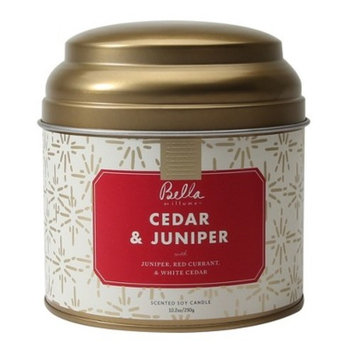 Lidded Tin Container Candle Cedar & Juniper 10.2oz - Bella by Illume