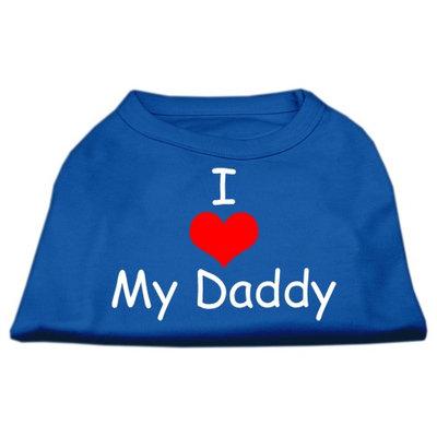 Ahi I Love My Daddy Screen Print Shirts Blue Med (12)