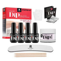 Red Carpet Manicure Color Dip Nail Color Dipping Powder Starter Kit