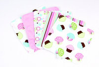 Trend Lab 101967 Blooming Bouquet Wash Cloth- 5-Pack Set