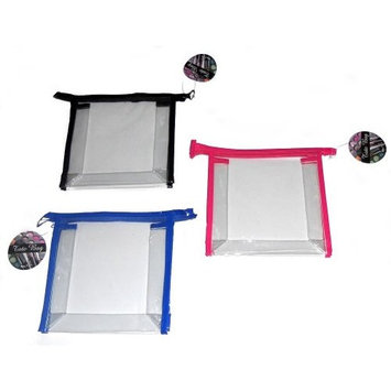 Clear vinyl make-up toiletry toiletries travel Tote Bag 7