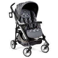 Peg Perego Pliko Four Stroller, Pois Grey (Discontinued by Manufacturer)