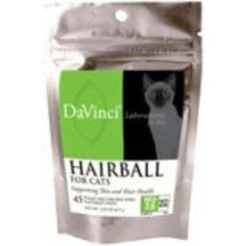 DaVinci Laboratories - Hairball Support for Cats 45 Soft Chews