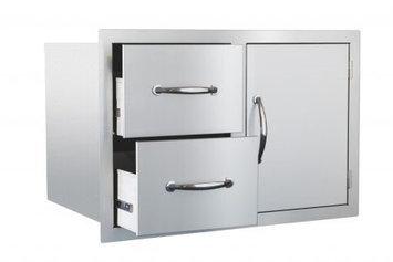 Summerset Grills Stainless Steel DoorDrawer Combo Ssdc1