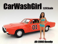 American Diorama 23942 Car Wash Girl Dorothy Figure for 1-24 Scale Models