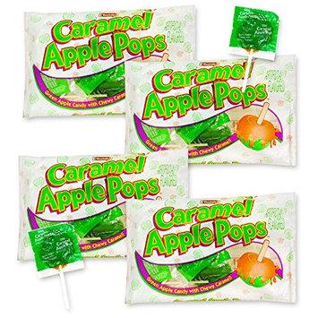 Tootsie Caramel Apple Pops~ Limited Edition (20 Ounces (4 Bags, 5 Ounces Each))