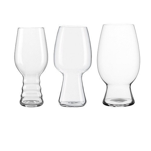 Drinking Glasses Sets, Spiegelau Craft Beer Tasting Kit Clear Glasses Set, 3 Piece
