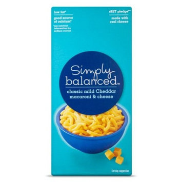 Mac & Cheese Cheddar 6oz - Simply Balanced™