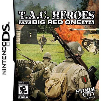 Storm City Games Storm City Entertainment T.A.C. Heroes: Big Red One (Nintendo DS)