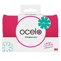 ocelo Non-Scratch Cleaning Pad, Colors and designs may vary (2 Pads Total)