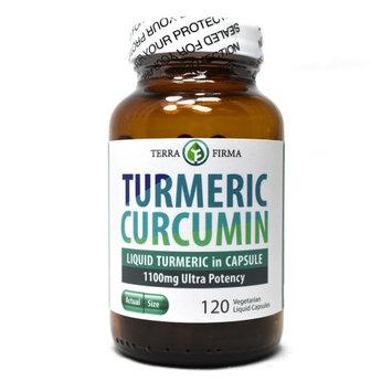 Terra Firma - Turmeric Curcumin 1100mg - 120 Vegetarian Liquid Capsules