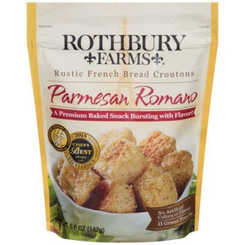 Rothbury Farms Paremesan Romano Rustic French Bread Croutons, 5 oz
