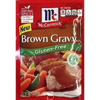 McCormick BROWN GRAVY Mix GLUTEN FREE .88oz (12 Packets) by McCormick