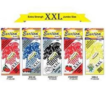 Exotica Fresheners PT1XXLCHE Air Freshener Extra Strength Jumbo Cherry Scent