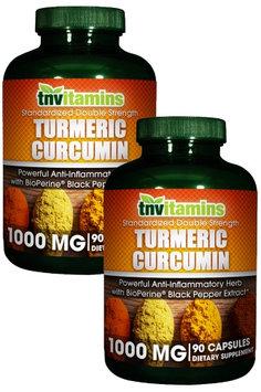 Tnvitamins Turmeric Curcumin 1000 Mg With Black Pepper Extract