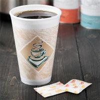 Dart 16X16G CPC 16 x 16 g Cafe Gourmet Foam Cup -16 oz Case of 1000