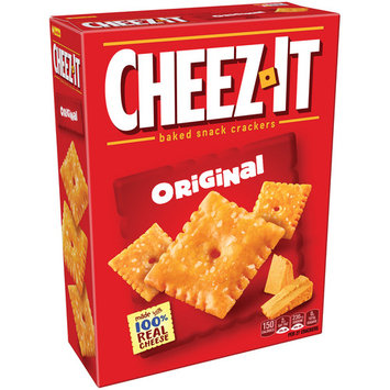 Cheez-It Snack Crackers, Original, 12.4 Oz (Pack of 2)