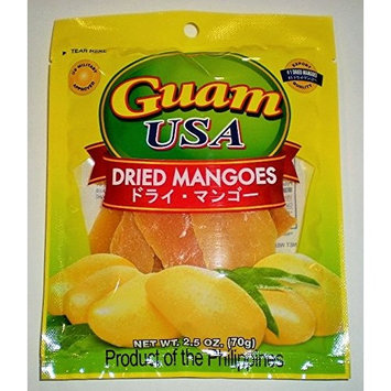 Delicious Cebu Philippine Ripe Dried Mangoes (70 grams)
