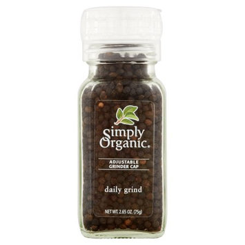 Frontier Co-op Simply Organic, Spice Grinder Daily Org, 2.65 Oz (Pack Of 6)