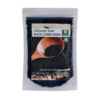 Organic Black Cumin Seed Whole, Nigella Sativa (1lb) by Naturevibe Botanicals, Gluten-Free & Non-GMO (16 ounces)