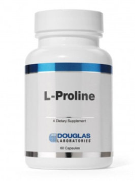 Douglas Laboratories Douglas Labs - L-Proline 500 mg 60 Capsules 7948-60X NNE Exp.2.18+ SD