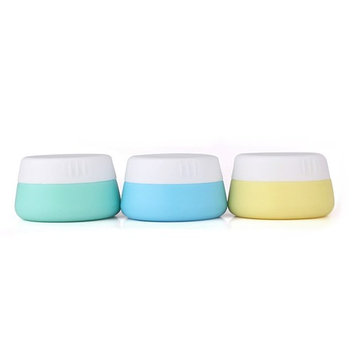 Mudder Silicone Cosmetic Containers Cream Jar Sealed Lids, 3 Pieces (20 ml)