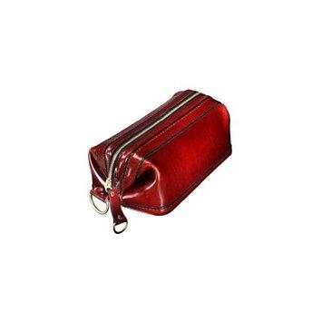 Bosca Old Leather Zipper Utility Kit (One size, Amber)