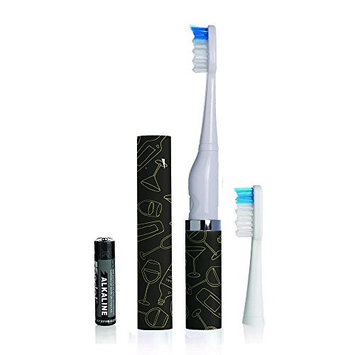 Violife Slim Sonic Classic Electric Toothbrush Cheers, Black Cheers, 2.40 Ounce