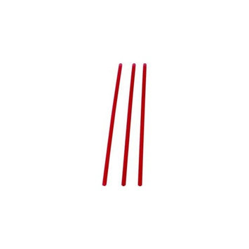 Waddington North America Slim Red Straws, 8