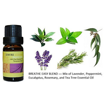 Breathe Easy - 100% Pure Therapeutic Grade Essential Oil 10ML (Blended)